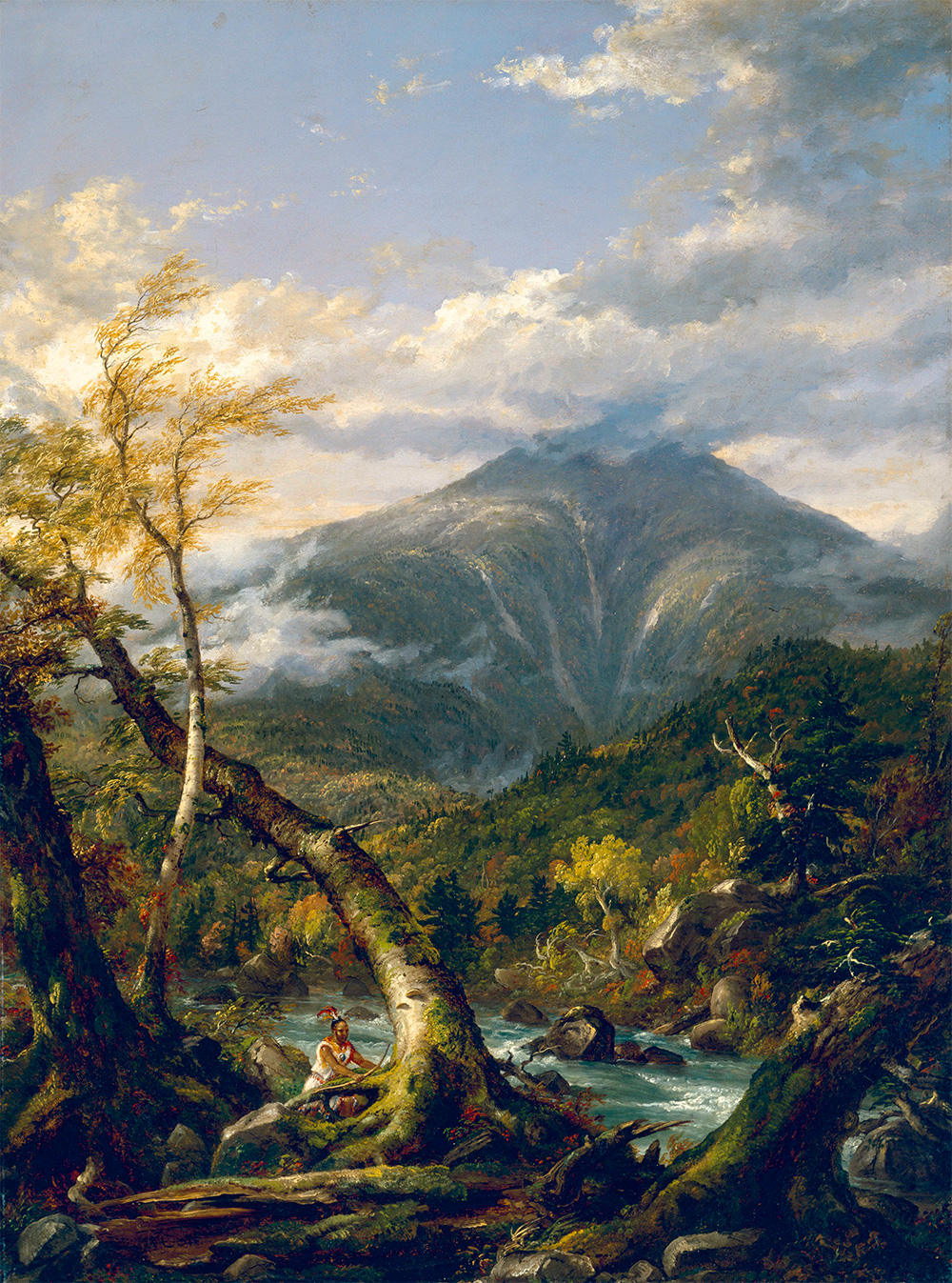 """thomas cole essay on american scenery analysis Thomas cole's """"essay on american scenery"""" suggests that he paints natural scenes to experience a particular emotional response—one he describes variably as """"a calm religious tone,"""" """"tranquility and peace,"""" and a feeling """"as though a great void had been filled in our minds"""" (100, 103, 105)."""